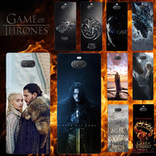 Phone Case For Sony Xperia X XA XA1 XA2 XA3 XZ XZ1 XZ2 XZ3 XZ4 Plus Ultra Compact Premium L 3 2 1 E5 M5 Game Of Thrones 8 Cover(China)