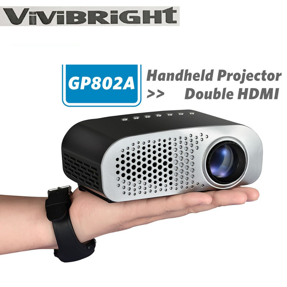 Vivibright portable led video projector portable mini led for Portable video projector