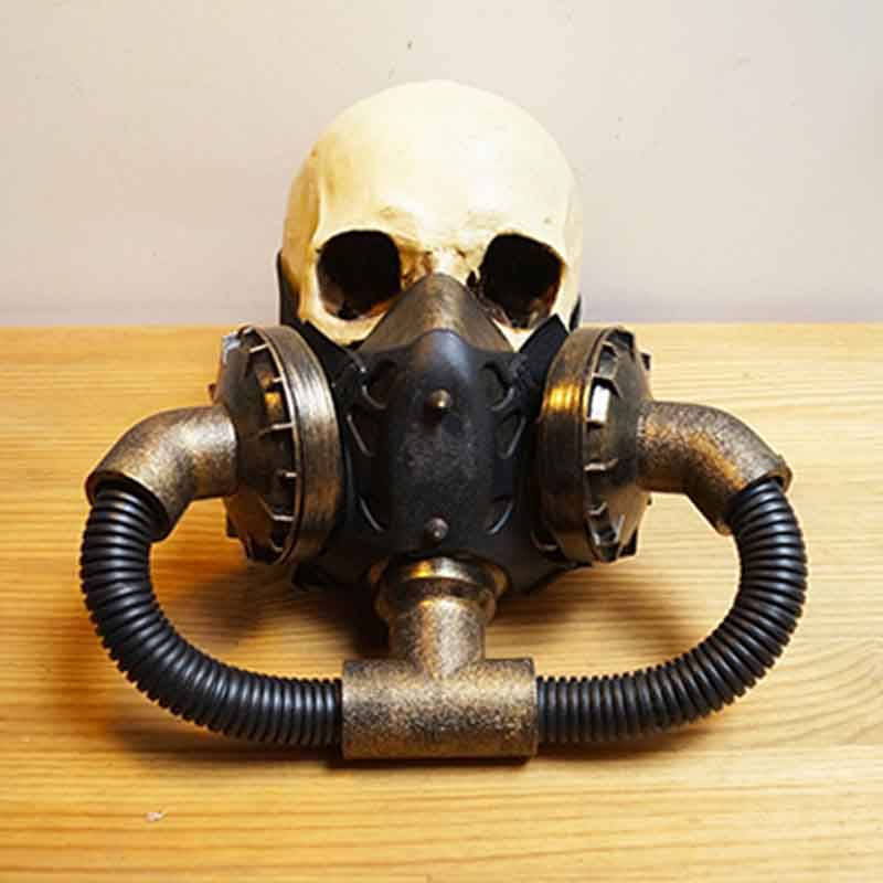 Kids Costumes & Accessories Reasonable Black Retro Rock Anti-fog Haze Gas Respirator Mask Carnival Party Cosplay Gothic Steampunk Props Halloween Costume Accessories Costumes & Accessories