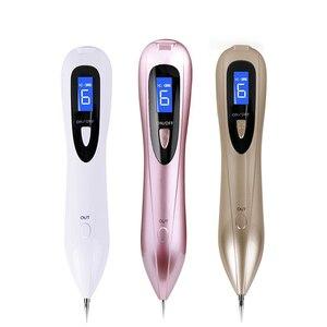 Image 5 - Beauty Star LCD Laser Plasma Pen Mole Tattoo Remover Dark Spot Remover pieg brodawki narzędzie do usuwania znaczników skóry pielęgnacja skóry