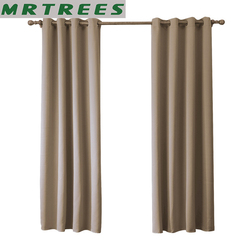 MRTREES Modern blackout curtains for living room bedroom window curtains for window cloth curtains+tulle curtains drapes Blinds