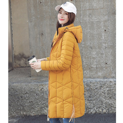 Winter Jacket Female Parka Coat Plus size 4XL Fashion Down Jacket Long Hoodie Down Thick Long Coat Jacket Women Clothing 5
