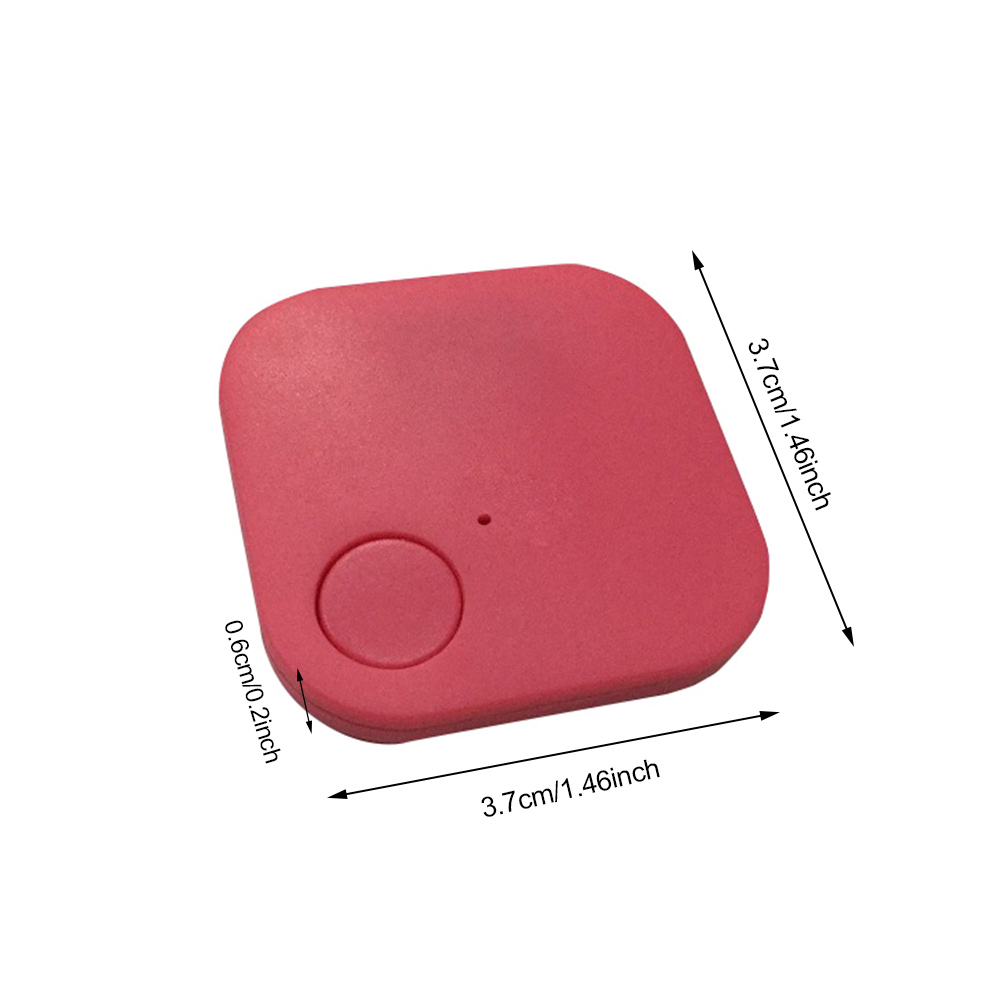 New Suqare GPS Tracker Pets Kids Wallet Keys Alarm Locator Realtime Finder Device For Dogs Cats Pets Finger Equipment Supplies (4)