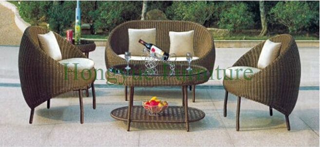 Patio garden rattan sofa set designs in china,outdoor furniture