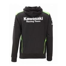 2016 KODASKIN Jackets Men's Clothing 100% Cotton Kawasaki Team Hoodies MotoGP Sweatshirts Motorcycle Casual Winter Sports Coats