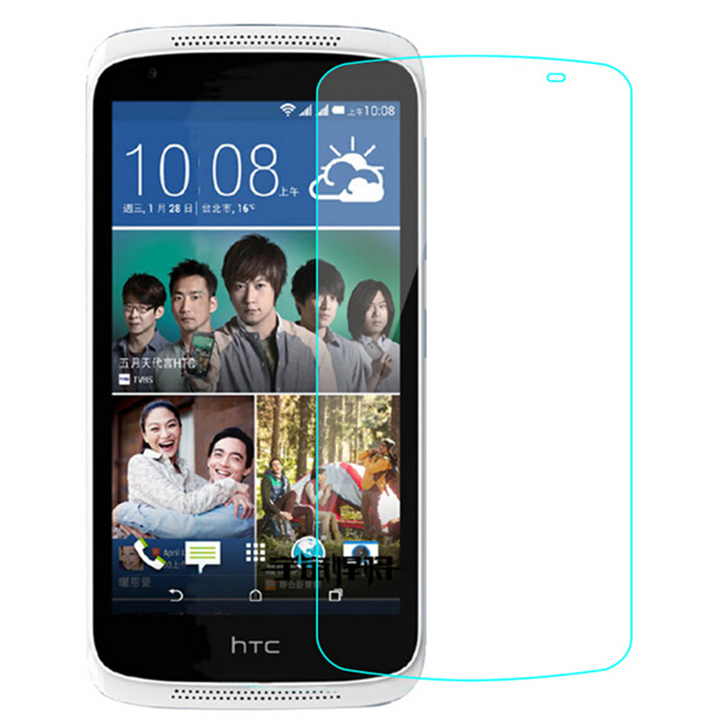 For HTC Desire 526 526G D526 Dual SIM Screen Protector 9H Toughened Protective Film Guard Premium Tempered Glass