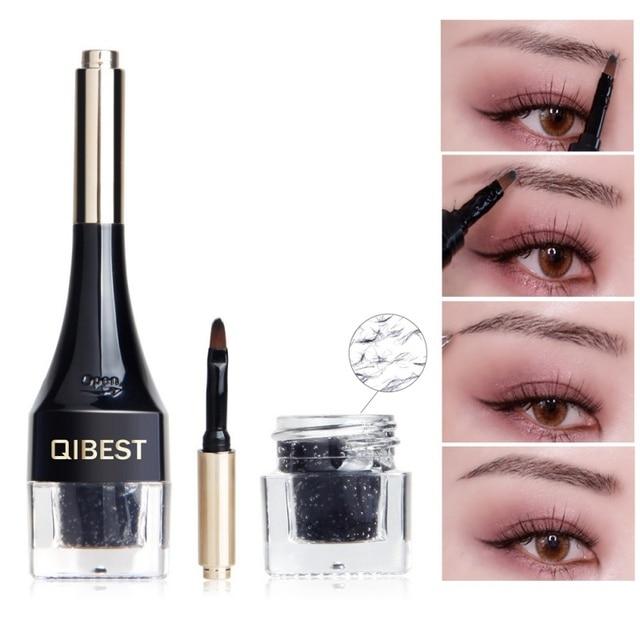 5d53244758a 3D Eyebrow Fiber Gel Eyes Makeup Extension Waterproof Eye Brow Beauty  Cosmetics Kits For Women Men