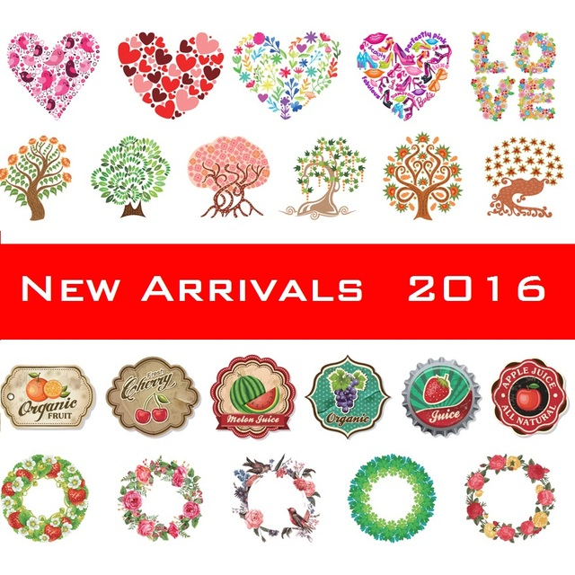 Garland Love Stamp Tree Pattern Japanese Washi Decorative Adhesive
