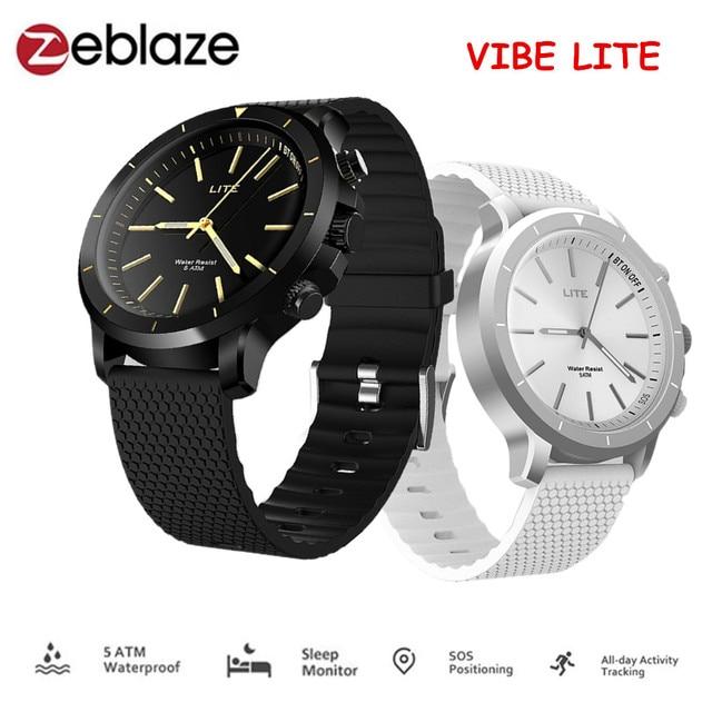 Zeblaze VIBE LITE Smart Watch 5 ATM Waterproof Outdoor Sport Smartwatch Fitness Trackers Wristband Watch Men PK Lenovo Watch 9
