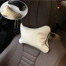 2 шт чехол для автомобильных подушек на подголовник tesla модель