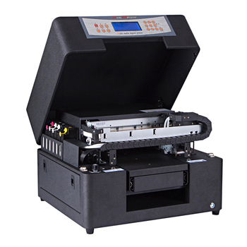 Industry and trade integration airwren black AR-LED Mini6 metal U disk printing machine a4 uv printer