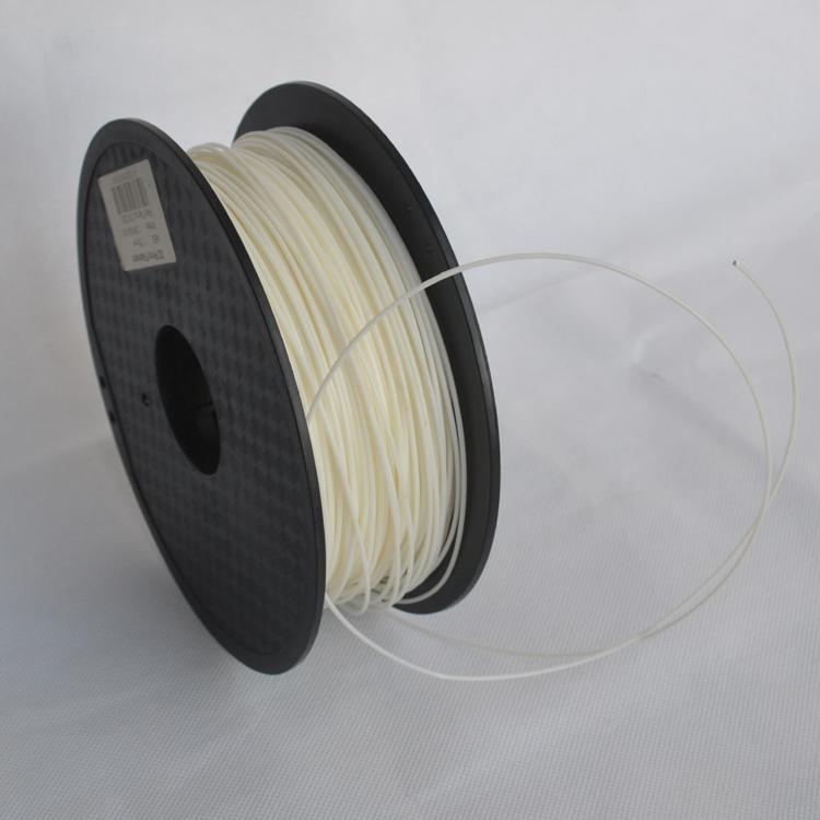 Prix pour Haute résistance Blanc couleur 3d imprimante filament PLA/ABS 1.75mm/3mm 1 KG en gros prix