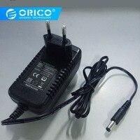 Orico 100-240 v ac 전원 어댑터 12 v 2.5a 5.5 mmconverter 어댑터 공급 30 w 어댑터 범용 벽 충전기 eu/au/uk/us 플러그