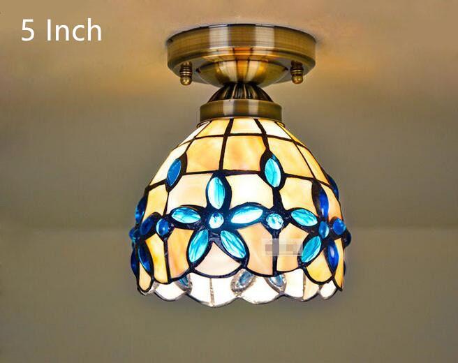 Blue Lilac Ceiling Light 11
