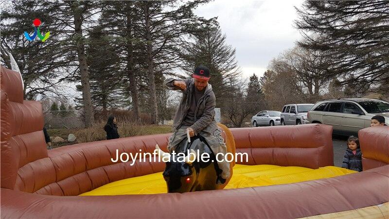Diameter 5m Inflatable Mat Bull Ride For Sale