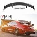 GT Спойлер крышка крыла для Mercedes-Benz CLA CLASS W117 CLA45 задний спойлер багажника из углеродного волокна 2013 2014 2015 2016