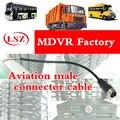 Транспортный авиационный соединитель удлинительные кабели MDVR мониторинг транспортного средства  авиационная головка  проволочный стерже...