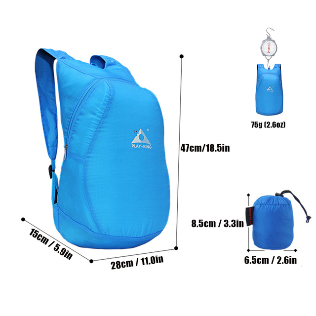 Ultra Lightweight Packable Foldable Backpack (20L)