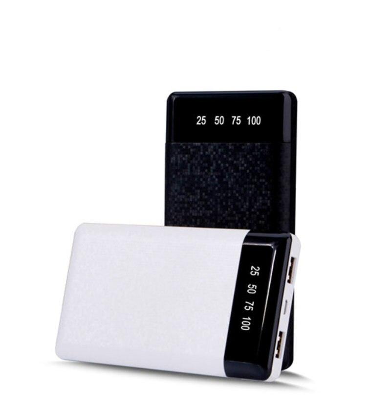 Schnelle original Power Bank Ultra Slim 30000 mah Power Bank 2.1A Ausgang Ladegerät slim power bank für iphone x samsung note 8 xiaomi