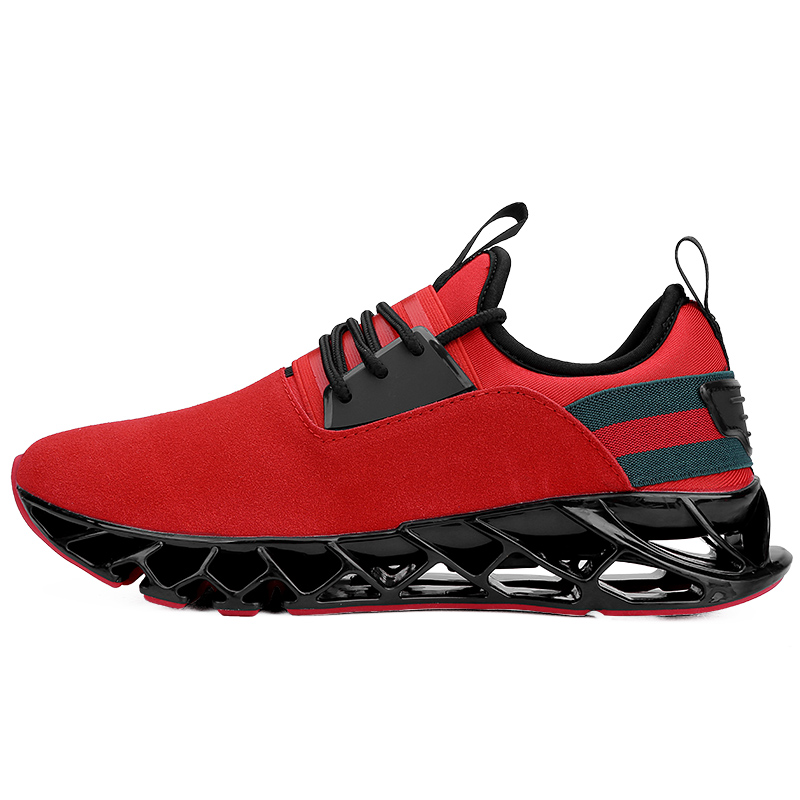 Homem Sneakers 2018 novos calçados esportivos Homens Correndo Sapatos masculinos outono Trending Estilo Lâmina sapatos de Caminhada Ao Ar Livre Respirável Jogging