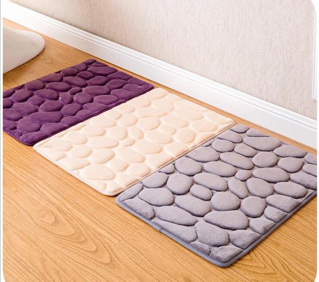 Soft Short Coral Plush Carpet Cobblestone Velvet Door Rug Living Dining Bedroom Area Rugs Slip Resistant & Soft Short Coral Plush Carpet Cobblestone Velvet Door Rug Living ...