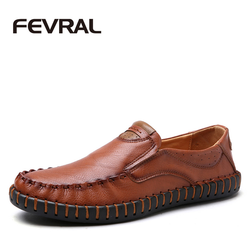 FEVRAL 2017 Spring Summer Handmade Men Shoes High Quality Pu Leather Casual Shoes Men Slip On Mocassin Homme Soft Flats Shoes women shoes 2016 high fashion shoes men spring summer women s flats casual shoes pu leather 2016