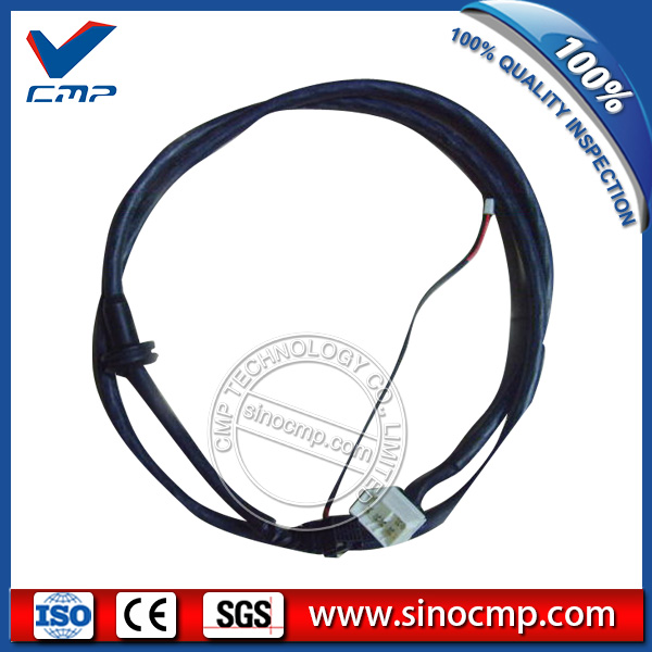 E320C E312C Excavator Parts Monitor Cable Plug 157-3198 260-2160 e320c 320c excavator monitor connector wire 157 3198 260 2160