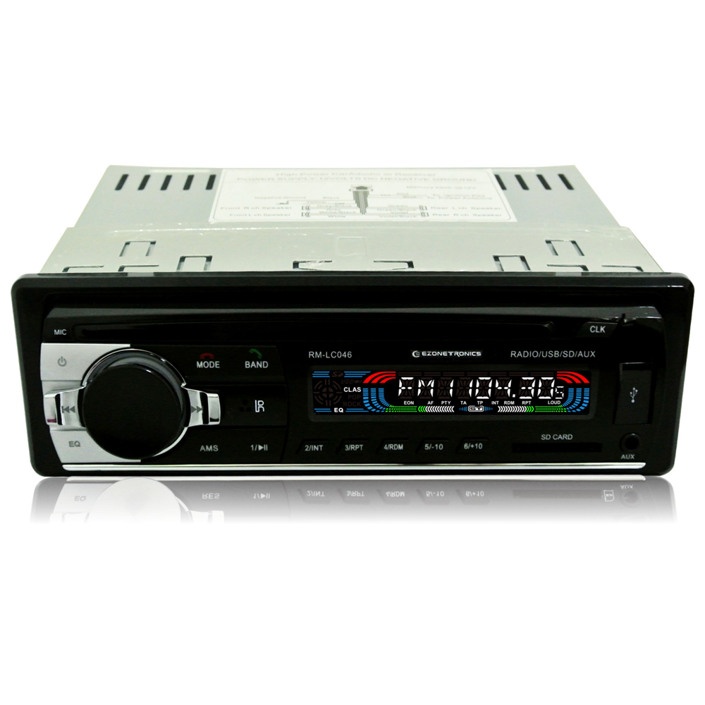 buy free shipping ezonetronics car fm and mp3 mp4 stereo radio receiver aux. Black Bedroom Furniture Sets. Home Design Ideas