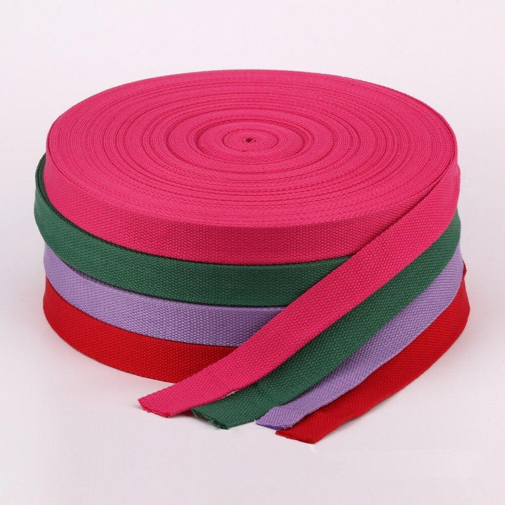 Mutter & Kinder 50 Yards/rolle 32mm 1,25 breite Leinwand Band Polyester Baumwolle Gurtband Nähen Tasche Gürtel Zubehör
