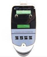 Sensor líquido ultrassônico do calibre dc24v do nível da água de 0-15 m medidor nivelado ultrassônico integrado 4-20ma/transmissor nivelado ultrassônico/0-15 m