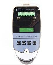 Sensor líquido ultrassônico do calibre dc24v do nível da água de 0 15 m medidor nivelado ultrassônico integrado 4 20ma/transmissor nivelado ultrassônico/0 15 m