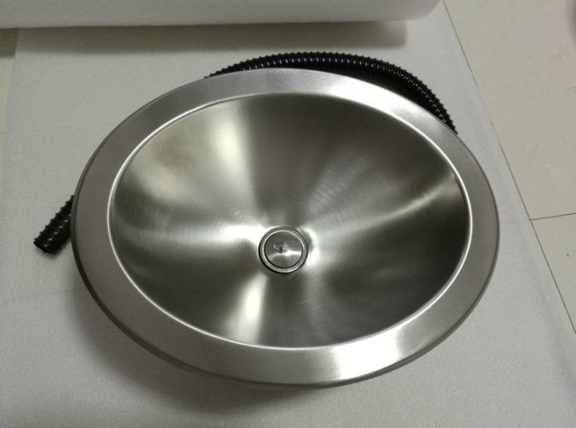 RV Caravan Camper Boat Stainless Steel Elliptical Hand Wash Basin ...