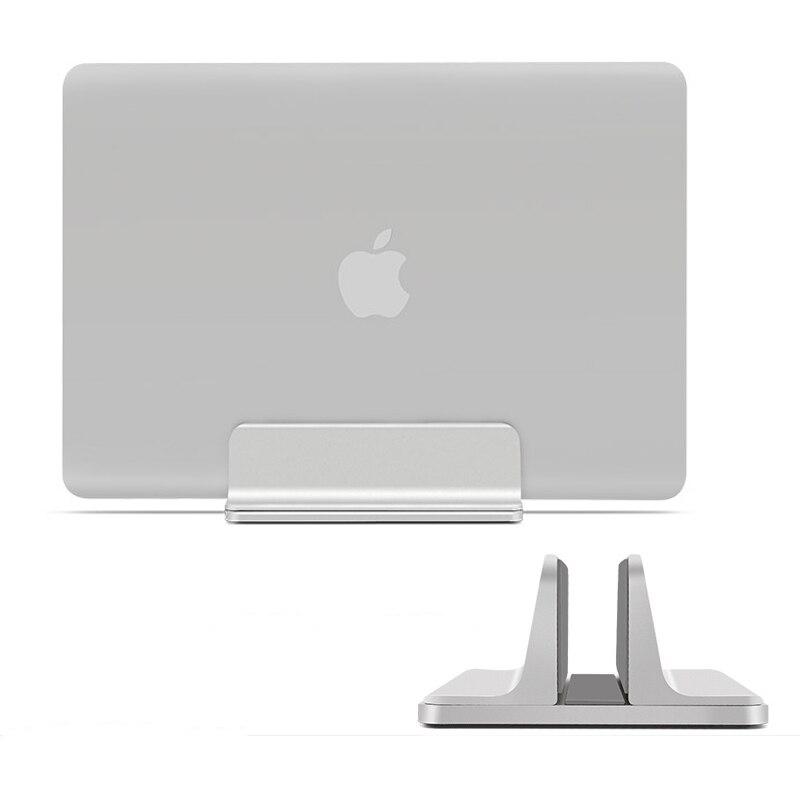 Universal Aluminum Tablet Holder Upright Laptop Stand Adjustable Vertical Notebook Bracket Standing Cradle for Macbook iPad HC01