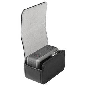 Image 1 - leather Bag Portable case Magnetic switch storage bag for dji osmo action sport camera Accessories