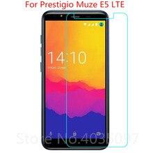 2 قطعة الزجاج المقسى ل Prestigio و Muze E5 LTE واقي للشاشة 9 H 2.5D الهاتف زجاج واقي ل Prestigio و Muze E5 LTE الزجاج