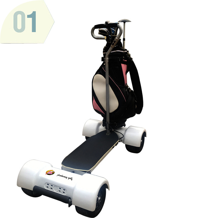 Electric Golf Carts 1000W60V 10.5inch Inflatable Four 4 Wheel Electric Scooters Golf Carts Electrical Scooter Golf Trolley (5)