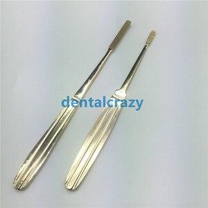 Image 1 - 2019 מכירה לוהטת האף צרצור נירוסטה פלסטיק מכשירי ניתוח זהב ידית כלים