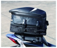 Free Shipping New RR9014 Motorcycle Rear Seat Bag Car Tail Bag Bags Send Rain Cover Black