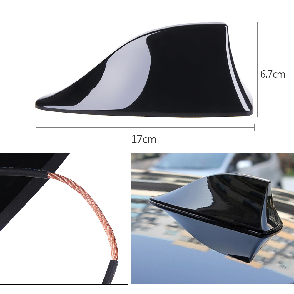 Rovtop-Car-Auto-Shark-Fin-Roof-Aerial-Base-Radio-Signal-Antennas-For-VW-BMW-Honda-Toyota (4)