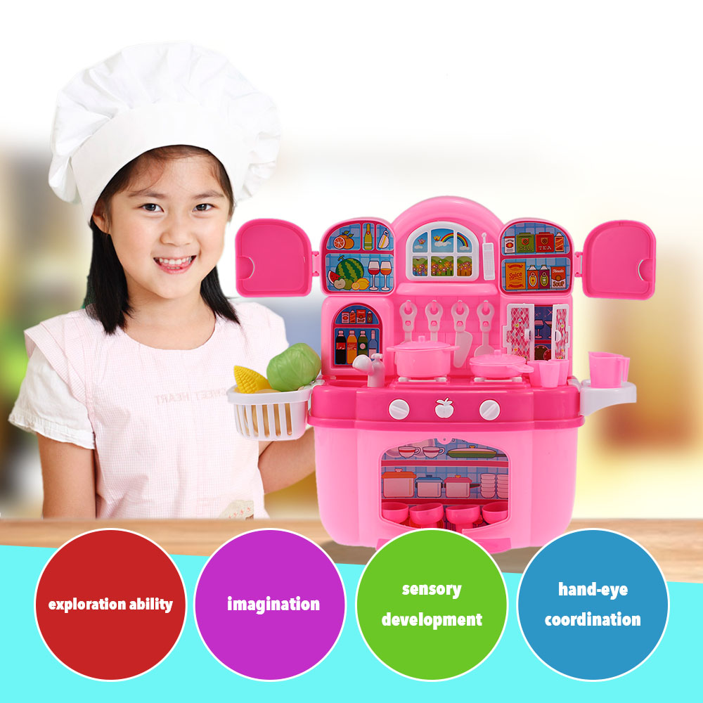 Online kopen Wholesale kitchen cabinet toy uit China kitchen ...