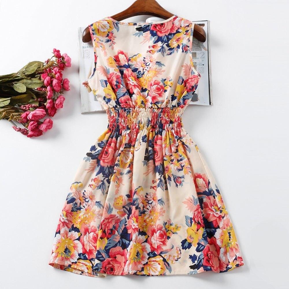 HTB1Dcn6HFXXXXXHXFXXq6xXFXXXQ - Summer Women Dress Vestidos Print Casual Low Price