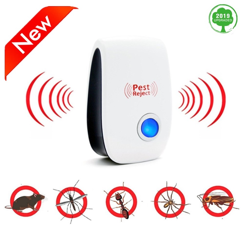 New Electric Mosquito Killer Lamp Anti Mosquito Trap LED Repellent Mole Mouse Cockroach Mice More Safty EU US Dropship