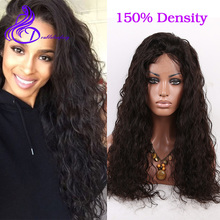 150% Density Full Lace Human Hair Wigs 7A Brazilian Lace Front Human Hair Wig For Black Women Natural Loose Curly Front Lace Wig