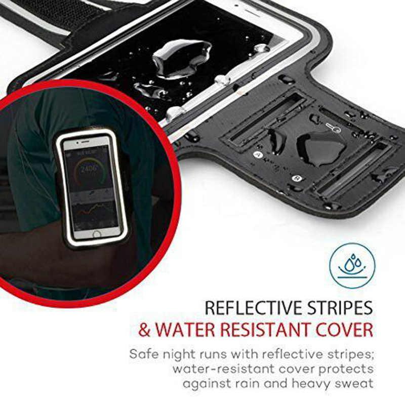 Sport armband Case voor iPhone X fashion houder voor iPhone case op hand smartphone mobiele telefoons handtas sport sling voor mobiele