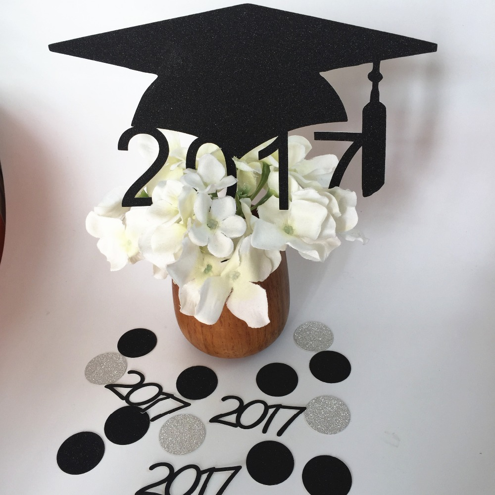 Popular graduation table decorations buy cheap