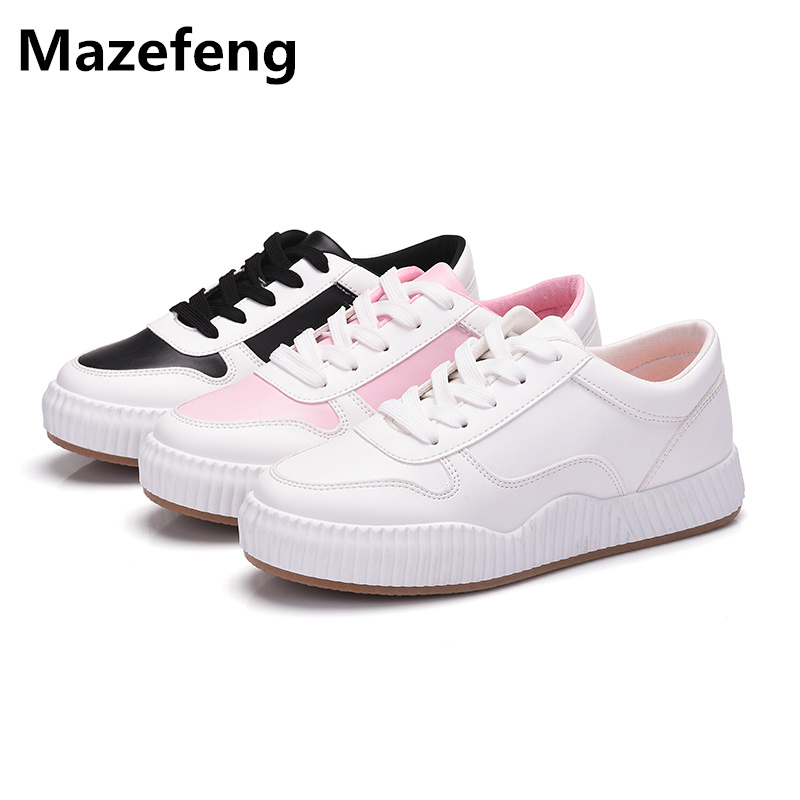2017 Korean Summer All-Match Women Shoes Fashion Breathable White Casual Shoes Woman Thick Flat Sapato Feminino A081 summer women shoes casual cutouts lace canvas shoes hollow floral breathable platform flat shoe sapato feminino lace sandals