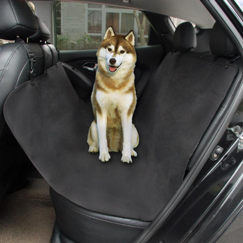 VODOOL Waterproof Pet Cat Dog Car Rear Back Seat Cover Protector Mat Auto Travel Blanket Hammock Cushion Protector 135*135cm outing dog cat pet car truck seat cover hammock carpet mat beige