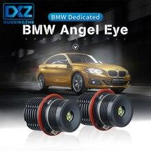 цены на DXZ 2Pcs Car LED light 40W Angel Eyes Error Free LED Halo Ring Light Bulbs For BMW E39 E53 E60 E63  в интернет-магазинах