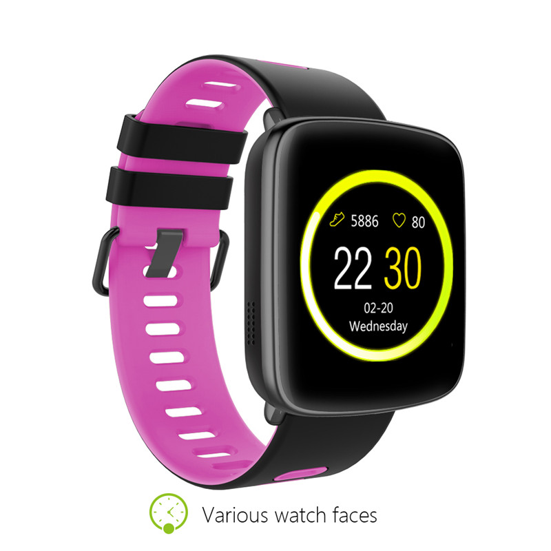 EastVita GV68 Smart Watch IP68 waterproof Bluetooth 4.0 SmartWatch Wearable device Heart Rate test for ios Android цена