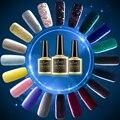 Long Lasting Glitter UV Nail Gel Soak Off LED Gel Nail Polish Gold/ Blue/ Yellow/ Pink/ Red/ Green/ Gray/ Silver Color Coat